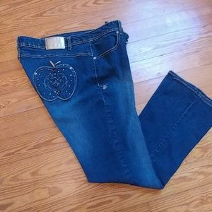 Plus size Apple Bottom Jeans